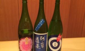 月ごとにご用意している日本酒